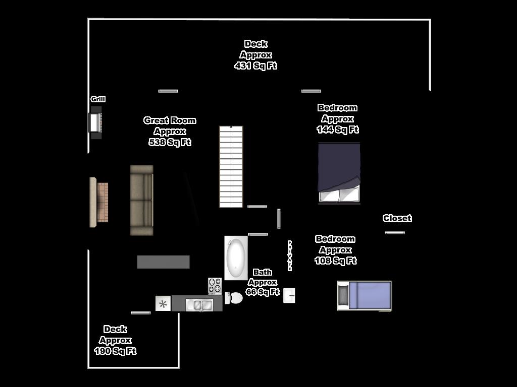 Bella Vista Main Floor Floorplan